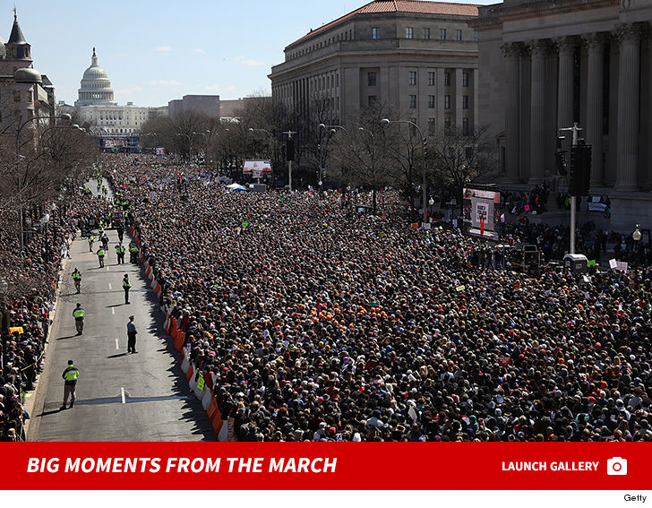 March for Our Lives Schumer, Jenner & Celebs Galore Join the Cause in LA and DC