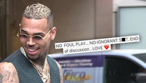 Chris Brown Makes It Clear, 'No Ignorant S**t' in Horseplay Party Pics
