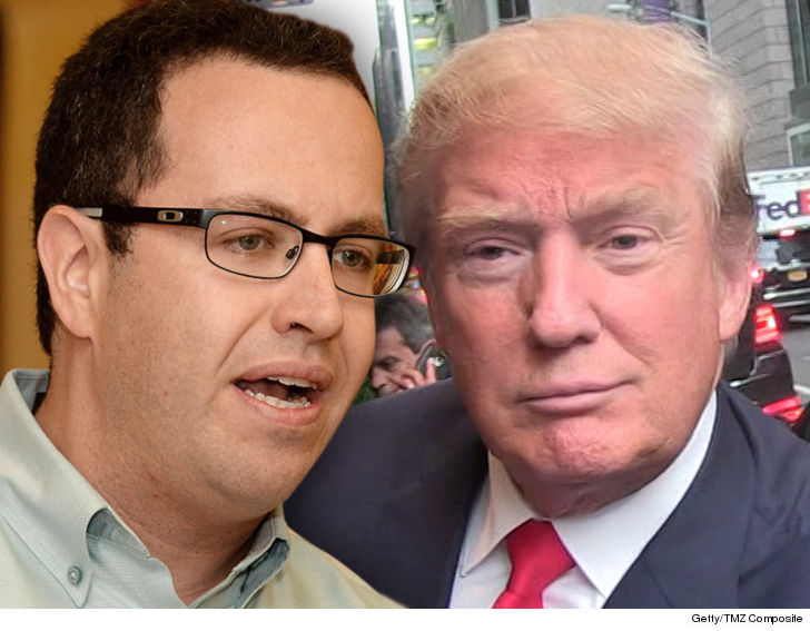 Jared Fogle Petitions Donald Trump to Get Out of Prison