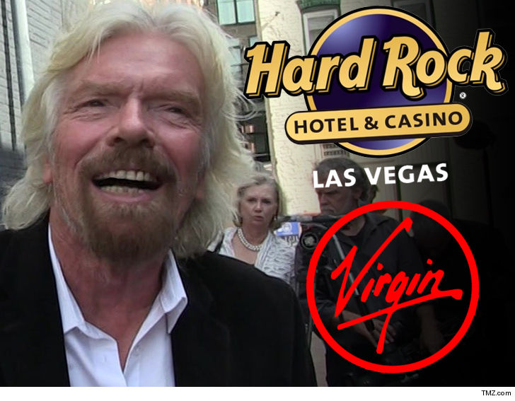 Richard Branson Buys Iconic Hard Rock Hotel in Vegas