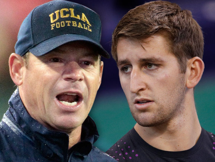 Anonymous Liked The Article Jim Mora Says Josh Rosen S A
