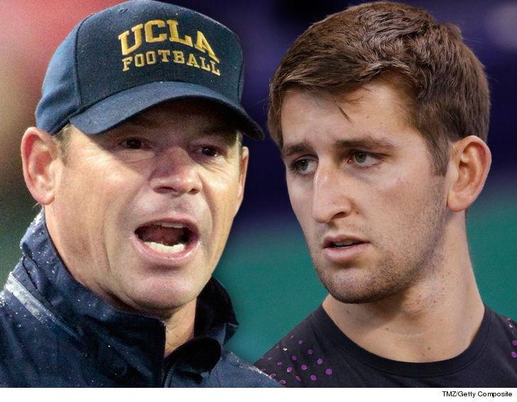 Jim Mora: QB Rosen 'needs to be challenged'