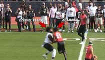 Ezekiel Elliott Puts 21 Savage On His Ass During Huncho Day