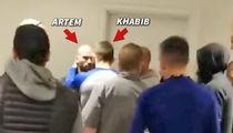 UFC's Khabib Nurmagomedov Confronts Conor McGregor's BFF in Heated Hotel Scrum