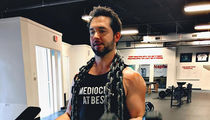 Serena's Hubby Alexis Ohanian Getting Jacked for Baby Alexis!