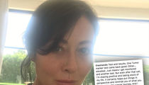 Shannen Doherty Reveals Tumor Marker 'Elevated'