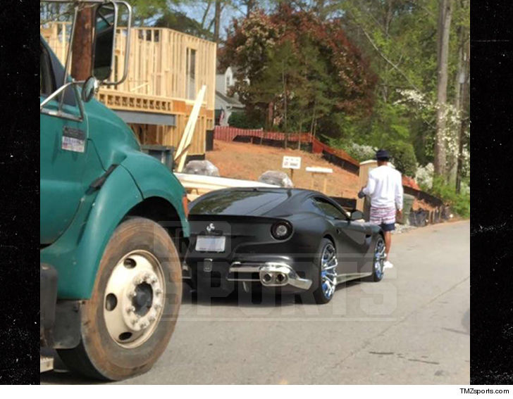 Panthers' Cam Newton, Ferrari in vehicle  crash with dump truck