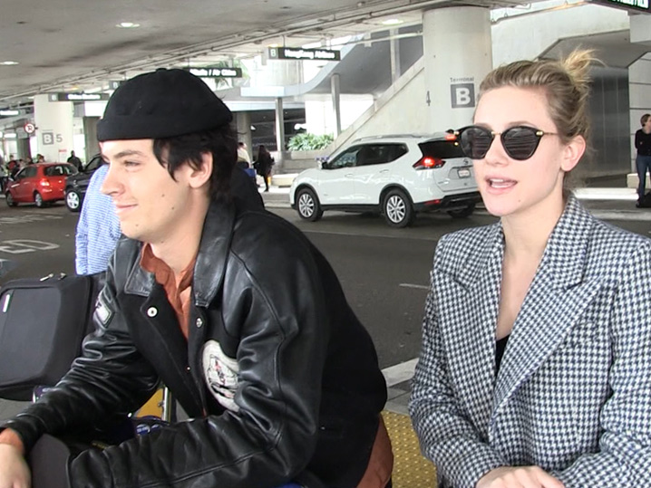 Jughead and betty are dating in real life
