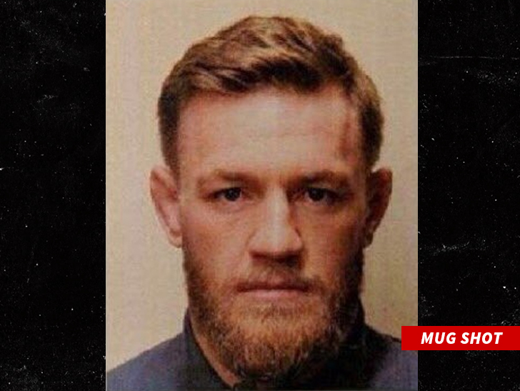 UFC star McGregor arraigned on felony criminal mischief