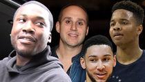 Meek Mill Gets Prison Visit from 76ers Star Rookies