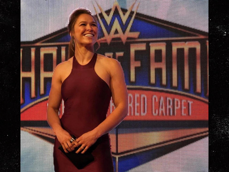 Ronda Rousey Made Her WWE Debut During Wrestlemania
