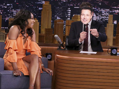 Tiffany Haddish Role-Plays Her First Date with Brad Pitt and It's EVERYTHING