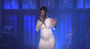 Cardi B FINALLY Officially Reveals She's Pregnant on 'SNL'