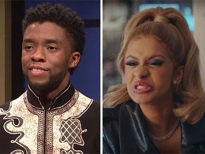 Cardi B Makes HILARIOUS 'SNL' Cameo and Black Panther Competes on 'Black Jeopardy'