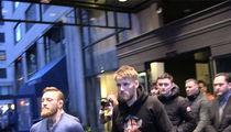 Conor McGregor Rollin' In NYC with Irish Bus Attack Gang