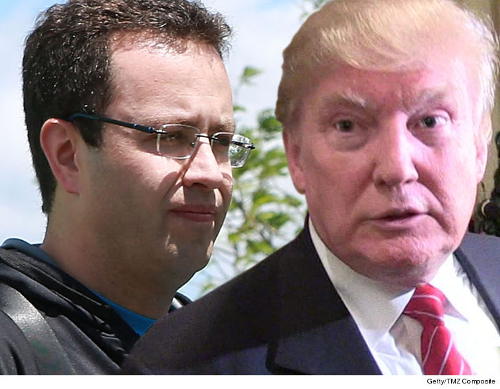 Jared Fogle Insists He Can Sue Donald Trump for Prison Release