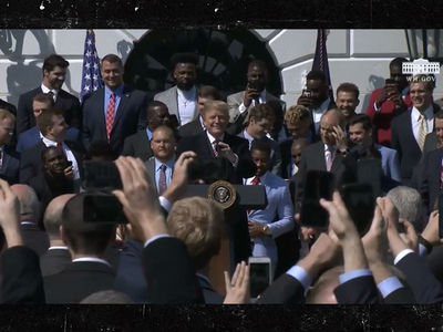Alabama Rolls Into Trump's White House for National Title Visit