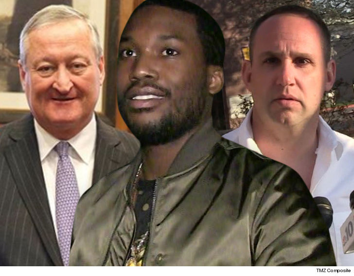 NBC Nightly News' Lester Holt Speaks to Rapper Meek Mill from Prison
