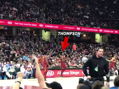 Tristan Thompson Only Lightly Booed at Cavs Game in Wake of Cheating on Khloe Scandal