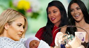 Khloe Kardashian Gets $7.5k Mommy Gift Basket from Kim and Kourtney