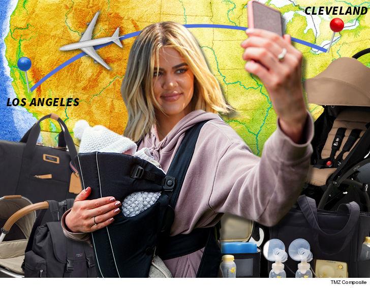 Khloe Kardashian My Baby's Ready To Be a Jet Setter
