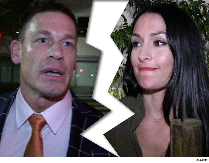 John Cena and Nikki Bella have split up, wedding called off