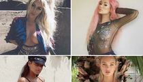 Coachella Celebrity Posers Out in Force