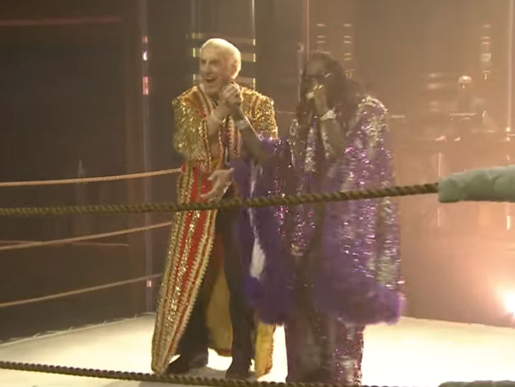 Image result for OFFSET NATURE BOY RIC FLAIR
