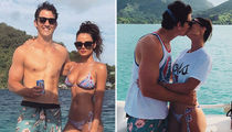 Dive Into These Hot Shots of Miles Teller and Keleigh Sperry's Bora Bora Vacay