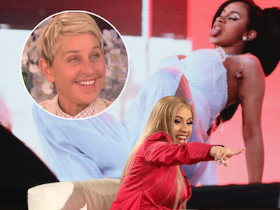 Cardi B on 'Ellen' Is GOLD: How She Got Pregnant, Why She LOVED Stripping & More Highlights