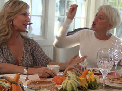 'Your Husband Left You, My Husband DIED!' -- Why 'RHONY' Star Dorinda SNAPPED on Sonja