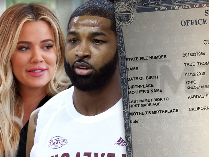 True Thompson Birth Certificate Confirms No Middle Name