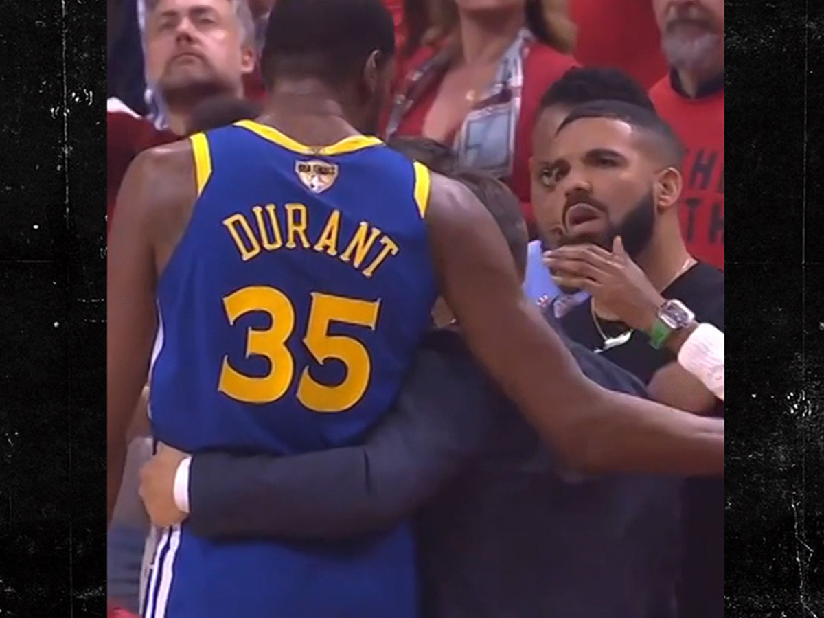 le dernier 60969 9f3e0 Drake Tried to Console Kevin Durant After Devastating ...
